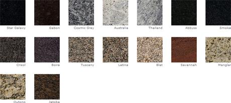 Encimeras de granito m rmola portal del m rmol - Colores de granito para encimeras de cocina ...
